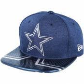 Keps Dallas Cowboys Draft 2017 9Fifty Navy Snapback - New Era - Blå Snapback