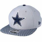 Keps Dallas Cowboys Sideline 9Fifty Grey Snapback - New Era - Grå Snapback