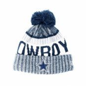Mössa Dallas Cowboys Sport Knit Navy Pom - New Era