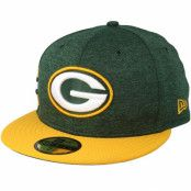Keps Green Bay Packers 59 Fifty On Field Green/Yellow Fitted - New Era - Grön Fitted