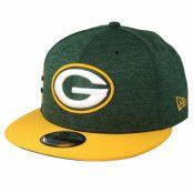 Keps Green Bay Packers 9Fifty On Field Emerald/Yelow Snapback - New Era - Grön Snapback