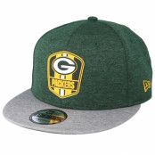 Keps Green Bay Packers 9Fifty On Field Green Snapback - New Era - Grön Snapback