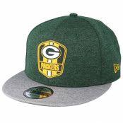 Keps Green Bay Packers 9Fifty On Field Green Snapback - New Era - Grön Snapback