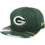 Keps Green Bay Packers Draft 2017 9Fifty Green Snapback - New Era - Grön Snapback