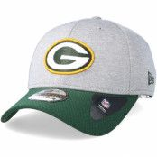 Keps Green Bay Packers Jersey Hex 39Thirty Grey/Green Flexfit - New Era - Grå Flexfit