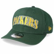 Keps Green Bay Packers NFL Pre Curved 9Fifty Green/Yellow Adjustable - New Era - Grön Reglerbar