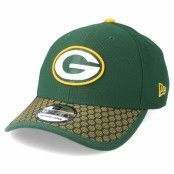 Keps Green Bay Packers Sideline 39Thirty Green Flexfit - New Era