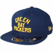 Keps Green Bay Packers Historic 950 Navy Snapback - New Era