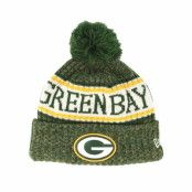Mössa Green Bay Packers Sport Knit Navy Pom - New Era