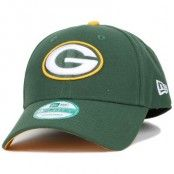 Keps Green Bay Packers The League Team 940 Adjustable - New Era - Grön Reglerbar