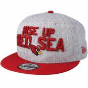 Keps Arizona Cardinals 2018 NFL Draft On-Stage Grey/Red Snapback - New Era - Grå Snapback