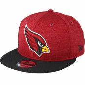 Keps Arizona Cardinals On Field Red/Black Snapback - New Era - Röd Snapback