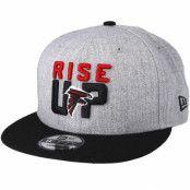 Keps Atlanta Falcons 2018 NFL Draft On-Stage Grey/Black Snapback - New Era - Grå Snapback