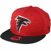 Keps Atlanta Hawks 9Fifty On Field Red/Black Snapback - New Era - Röd Snapback