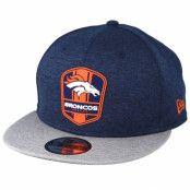 Keps Denver Broncos 9Fifty On Field Navy/Grey Snapback - New Era - Blå Snapback