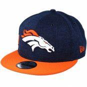 Keps Denver Broncos 9Fifty On Field Navy/Orange Snapback - New Era - Blå Snapback