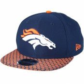 Keps Denver Broncos Sideline 9Fifty Navy Snapback - New Era