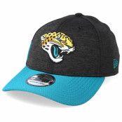 Keps Jacksonville Jaguars 39Thirty On Field Black/Teal Flexfit - New Era - Svart Flexfit