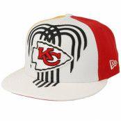 Keps Kansas City Chiefs 9Fifty NFL Draft 2019 White/Red/Yellow Snapback - New Era - Vit Snapback