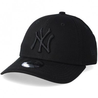 Keps Kids New York Yankees 9Forty Black/Black Adjustable - New Era - Svart Barnkeps