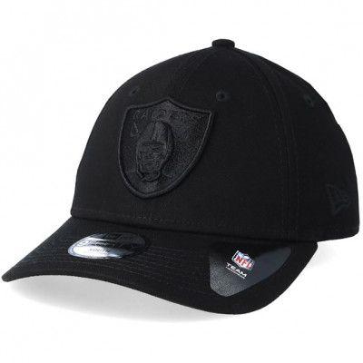 Keps Kids Oakland Raiders 9Forty Black/Black Adjustable - New Era - Svart Barnkeps