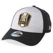 Keps New Orleans Saints 39Thirty On Field Grey/Black Flexfit - New Era - Grå Flexfit