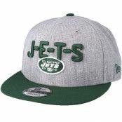Keps New York Jets 2018 NFL Draft On-Stage Grey/Green Snapback - New Era - Grå Snapback
