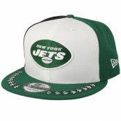 Keps New York Jets 9Fifty NFL Draft 2019 White/Green/Black Snapback - New Era - Grön Snapback