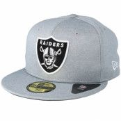 Keps Oakland Raiders 59Fifty Shadow Tech Grey Fitted - New Era - Grå Fitted
