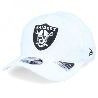 Keps Oakland Raiders 76ers Base Stretch 9Fifty White/Black Adjustable - New Era - Vit Reglerbar