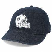 Keps Oakland Raiders Helmet Low Profile 9Fifty Black Strapback - New Era