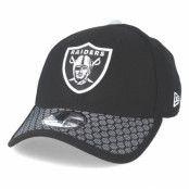 Keps Oakland Raiders Sideline 39Thirty Black Flexfit - New Era - Svart Flexfit