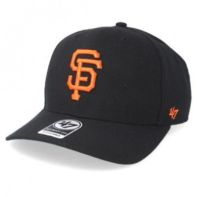 Keps San Francisco Giants Cold Zone Black Adjustable - 47 Brand - Svart Reglerbar
