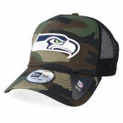 Keps Seattle Seahawks Color Forest Camo Trucker - New Era - Camo Trucker