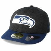 Keps Seattle Seahawks Shadow Tech Low Profile 59Fifty Heather Grey Fitted - New Era - Grå Fitted