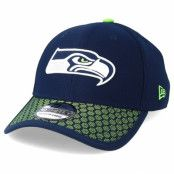 Keps Seattle Seahawks Sideline 39Thirty Navy Flexfit - New Era