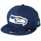 Keps Seattle Seahawks Team Mesh 9Fifty Navy Snapback - New Era - Blå Snapback