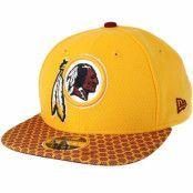 Keps Washington Redskins Sideline 9Fifty Yellow Snapback - New Era - Gul Snapback