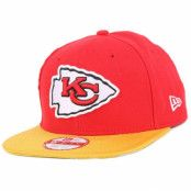 Kepsar Kansas City Chiefs NFL Sideline 9Fifty Snapback - New Era