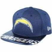 Keps Los Angeles Chargers Draft 2017 9Fifty Navy Snapback - New Era - Blå Snapback