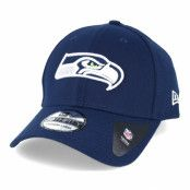 Keps Seattle Seahawks NFL Team Essential Stretch Navy 39thirty Flexfit - New Era