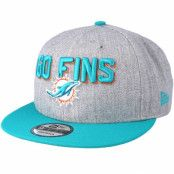 Keps Miami Dolphins 2018 NFL Draft On-Stage Grey/Teal Snapback - New Era