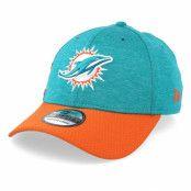 Keps Miami Dolphins 39Thirty On Field Teal/Orange Flexfit - New Era - Blå Flexfit