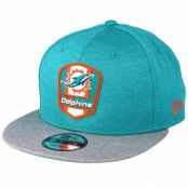 Keps Miami Dolphins 9Fifty On Field Teal Snapback - New Era