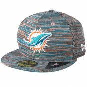 Keps Miami Dolphins Engineered Fit 59Fifty Multi Fitted - New Era - Multi Fitted