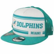 Keps Miami Dolphins On Field 19 9Fifty 1970 White/Teal Trucker - New Era - Grön Trucker