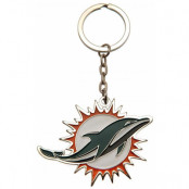 Miami Dolphins Nyckelring Logo