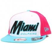 Keps Miami Dolphins Seasonal Script 9Fifty Snapback - New Era - Vit Snapback