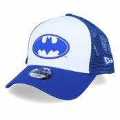 Keps Kids Batman A-Frame White/Royal Trucker - New Era - Blå Barnkeps