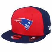 Keps Kids New England Patriots Character Front 9Fifty Red/Navy Snapback - New Era - Blå Barnkeps